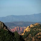 Red Rocks from Schnebly Road - AZ by carol selchert