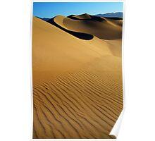 Death Valley Golden Hour Poster