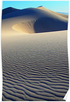 Death Valley Patterns In The Sand by Bob Christopher