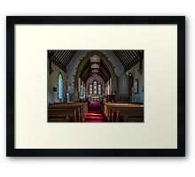 St Thomas Church, St Dogmaels Framed Print