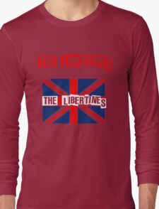 Indie-The Libertines Long Sleeve T-Shirt