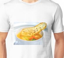 Soup and Potatoe-Thyme-Chip Unisex T-Shirt