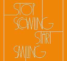 Stop Scowling • Fanta by Megan  Romo