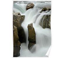 Sunwapta Falls Jasper Canada Poster