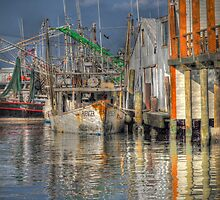 Galveston Shrimp Boats by venny