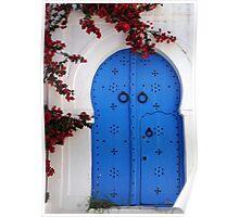 Doorway In Tunisia Poster