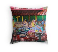 Mission Life Throw Pillow