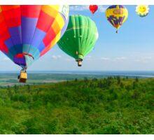 Hot Air Ballon Festival Sticker