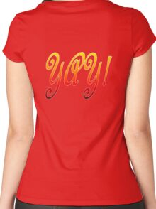 Yay! Women's Fitted Scoop T-Shirt