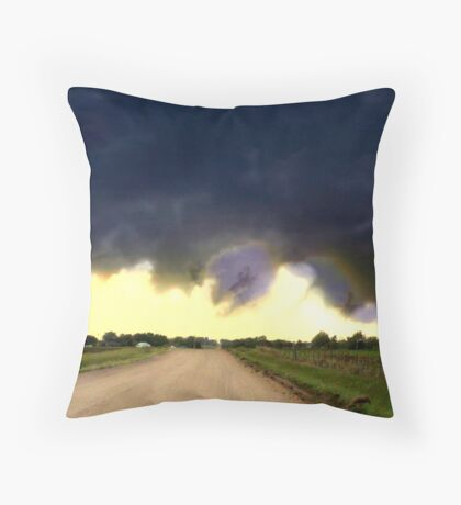 Wild Wicked Weather Throw Pillow
