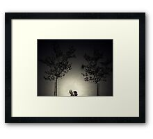 Two couples Framed Print