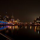 Melbourne by Night 01 by DavidsArt