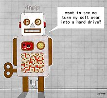 naughty robot by Loui  Jover
