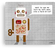 naughty robot Canvas Print