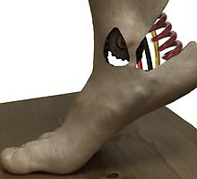 Cybernetic Foot by WDaRos714