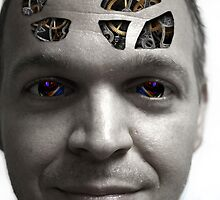 Cybernetic Head by WDaRos714