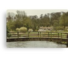 Early Spring in the Counties Canvas Print