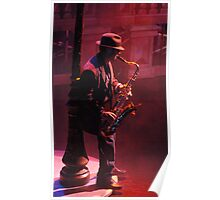 Sax In The City Poster