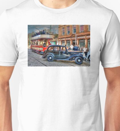Paisley District Tram and Wolseley 18 Police Car Unisex T-Shirt