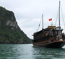 Cristina Cruise, Ha Long Bay, Vietnam by John Raftery