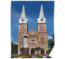 Notre Dame Cathedral, Ho Chi Minh, Vietnam Poster