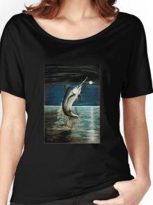 Moonlit Marlin Women's Relaxed Fit T-Shirt