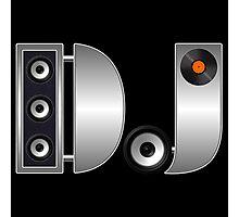 Metal DJ Photographic Print
