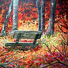 Lonely Bench - Gone Big by Corrina Holyoake