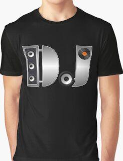 Metal DJ Graphic T-Shirt