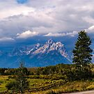 The Majestic Grand Tetons by Bryan D. Spellman