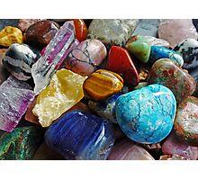 Colourful Stones Photographic Print