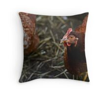 a fine looking layer. Throw Pillow