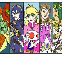 Super Smash Girls  by Kayla G. Webster