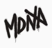 MDNA Tag (Black) Kids Tee