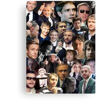 Martin Freeman Collage Canvas Print