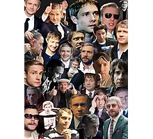 Martin Freeman Collage Photographic Print