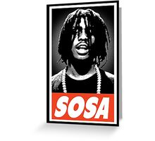 Sosa Greeting Card