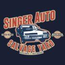 Singer Auto Salvage Yard by destinysagent