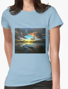 the still Womens Fitted T-Shirt