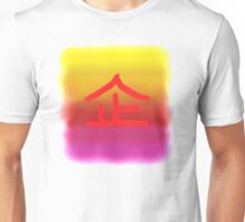 Chinese Character for Hope Qi Unisex T-Shirt