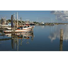 Fishing Trawlers at Iluka Photographic Print