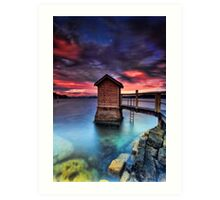 The Pump House Art Print