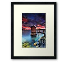 The Pump House Framed Print
