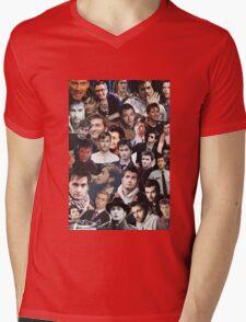 David Tennant Collage Mens V-Neck T-Shirt