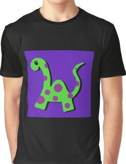 Frederick the Dinosaur Graphic T-Shirt
