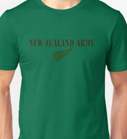 New Zealand Army (FOTC) Unisex T-Shirt