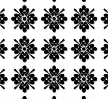 Beautiful Cushions/ Pattern Flowered Tiles Sticker