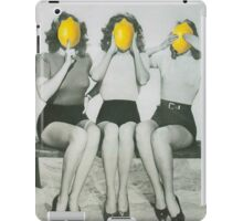 Lemonheads  iPad Case/Skin