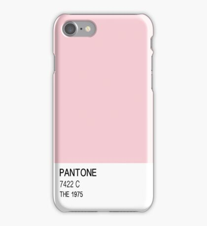 The 1975 - PANTONE pink iPhone Case/Skin