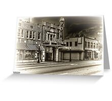 Ghost Town : Lakeland, Fl  HDR Greeting Card